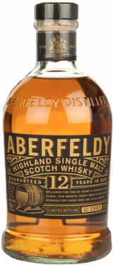 Aberfeldy Single Highland Malt Scotch Whisky 12 year old