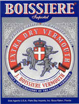 Boissiere Extra Dry Vermouth