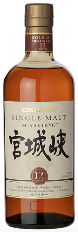 Nikka Miyagikyo Single Malt Whisky 12 year old