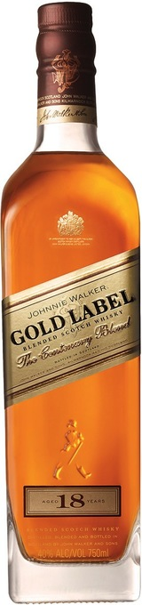 Johnnie Walker Gold Label Blended Scotch Whisky 18 year old