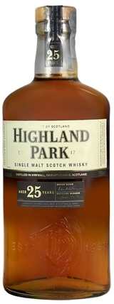 Highland Park Single Malt Scotch Whisky 25 year old