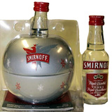 Smirnoff Vodka With Ornament