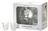 Crystal Head Vodka with 2 Shot Glasses