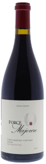 Force Majeure Vineyards Estate Syrah 2012