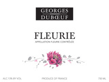 Georges Duboeuf Fleurie 2014