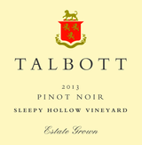 Talbott Sleepy Hollow Vineyard Pinot Noir 2013
