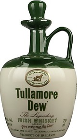 Tullamore Dew Irish Whiskey Crock
