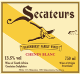 AA Badenhorst Family Wines  Secateurs Chenin Blanc 2015