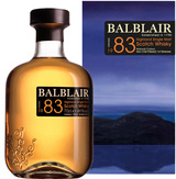 Balblair Highland Single Malt Scotch Whisky 1983
