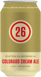 Station 26 Brewing Co. Colorado Cream Ale