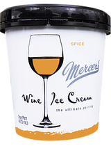 Mercer's Wine Ice Cream Spice Ice Cream