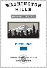 Washington Hills Riesling 2014