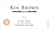 Ken Brown Clos Pepe Vineyard Pinot Noir 2012