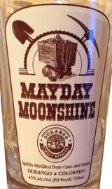 Durango Craft Spirits Mayday Moonshine