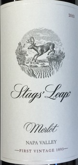 Stags' Leap Winery Napa Valley Merlot 2015