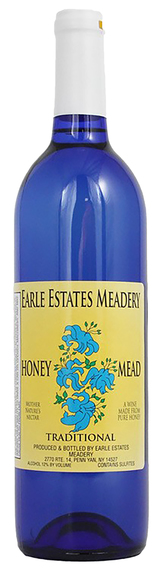 Earle Estates Meadery Traditional Honey Mead