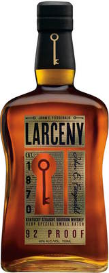 Larceny Very Special Small Batch Kentucky Bourbon Whiskey