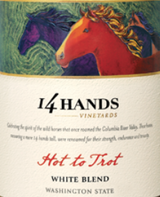 14 Hands Hot To Trot White Blend 2013
