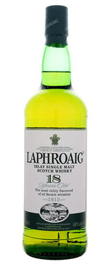Laphroaig Islay Single Malt Scotch Whisky 18 year old