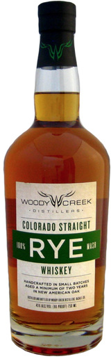 Woody Creek Distillers Colorado Straight 100% Rye Whiskey