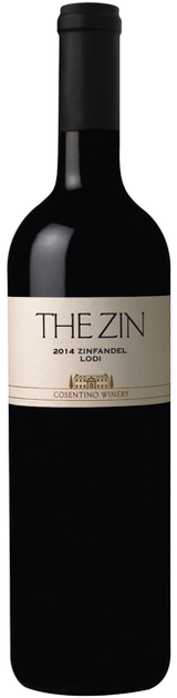 Cosentino The Zin Zinfandel 2014