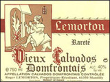 Lemorton Selection Reserve Calvados Domfrontais