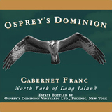 Osprey's Dominion Vineyards Cabernet Franc 2010