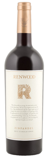 Renwood Fiddletown Zinfandel 2012