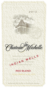 Chateau Ste. Michelle Indian Wells Red Blend 2012