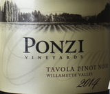 Ponzi Vineyards Tavola Pinot Noir 2014