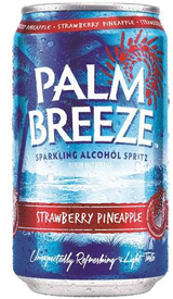 Palm Breeze Strawberry Pineapple Spritz