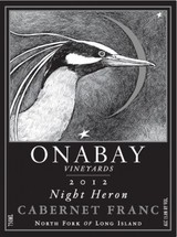 Onabay Vineyards Night Heron Cabernet Franc 2012