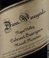 Dunn Vineyards Howell Mountain Cabernet Sauvignon 2013