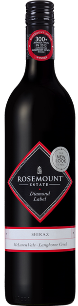 Rosemount Estate Diamond Label Shiraz 2015