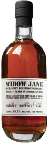 Widow Jane Kentucky Bourbon Whiskey 10 year old