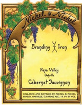 Nickel & Nickel Branding Iron Vineyard Cabernet Sauvignon 2013
