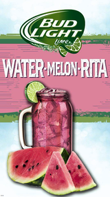 Budweiser Bud Light Lime Water-Melon-Rita
