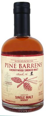 Pine Barrens Cherrywood Smoked Single Malt Wiskey