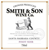 Smith & Son Pinot Noir 2013