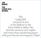 Jim Barry The Lodge Hill Shiraz 2013