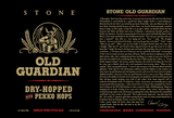 Stone Brewing Co. Old Guardian Barley Wine Pekko Hopped