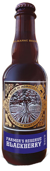 Almanac Beer Co. Farmer's Reserve Blackberry