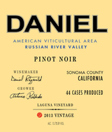 Brack Mountain Daniel Laguna Vineyard Pinot Noir 2013