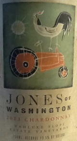 Jones of Washington Chardonnay 2013