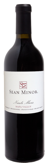 Sean Minor Nicole Marie Red Blend 2013