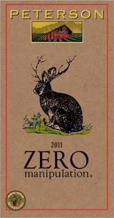 Peterson Winery Zero Manipulation 2012