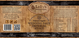 Lefty's Brewing Barrel Aged Wedding Daze 2015
