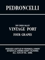 Pedroncelli Vintage Port Four Grapes 2011