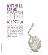 Anthill Farms Campbell Ranch Vineyard Pinot Noir 2014