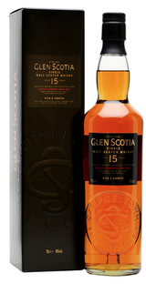 Glen Scotia Campbeltown Single Malt Scotch Whisky 15 year old